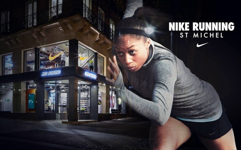 boutique nike running saint michel