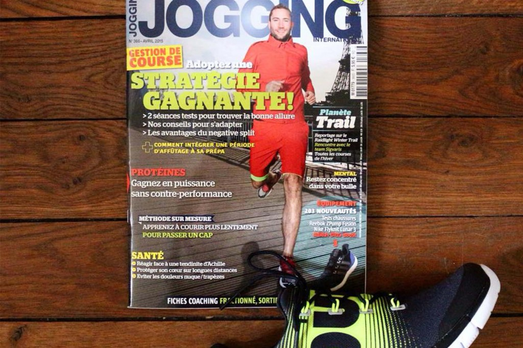 Jogging International, Avril 2015