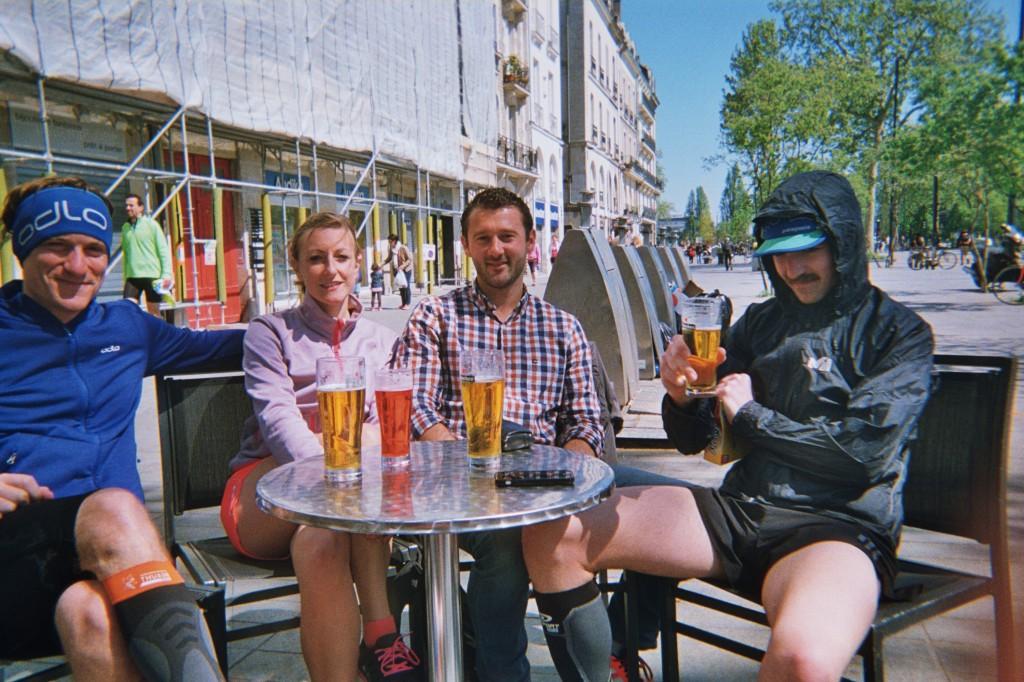 Bières avec coach Yoann.