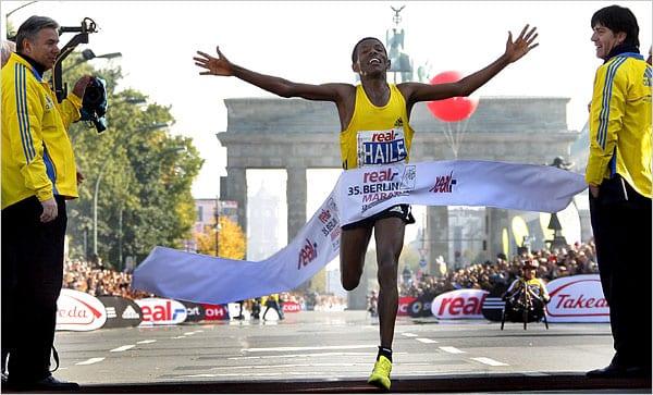 marathon de berlin Haile Gebreselassie