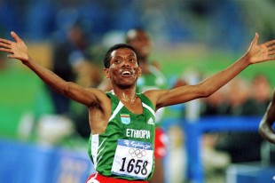 Haile Gebrselassie olympic games