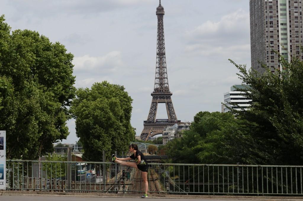 Jolie Foulee x La parisienne x Reebok