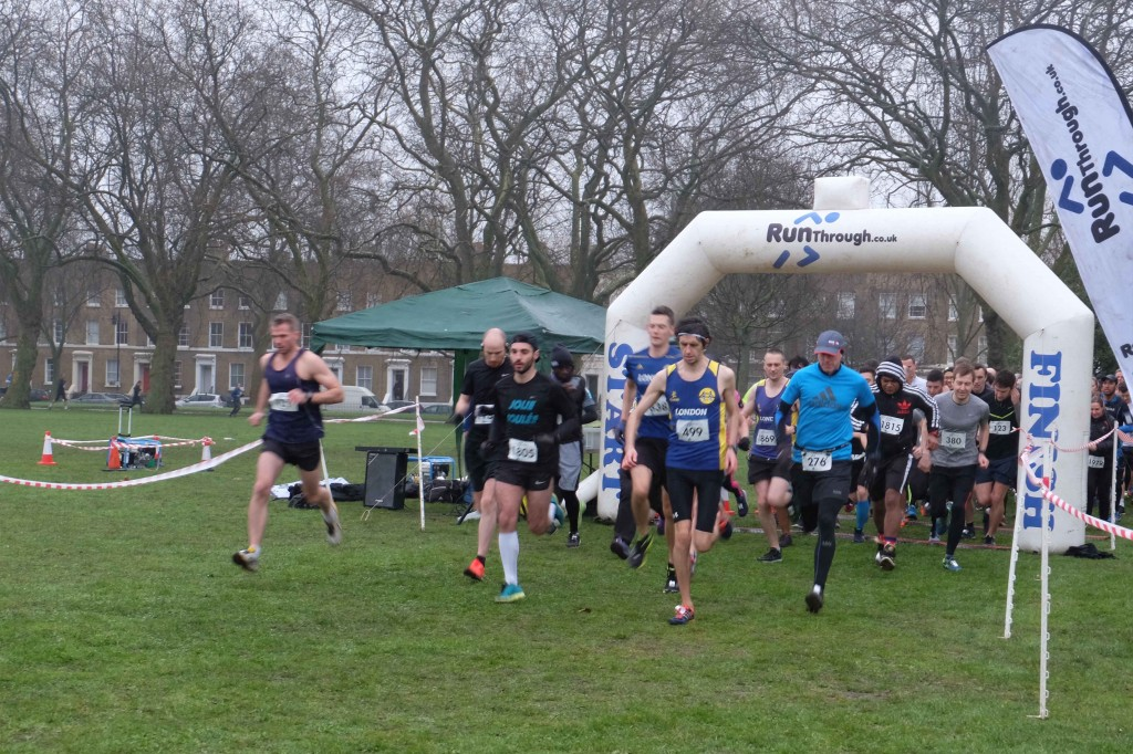 Running London