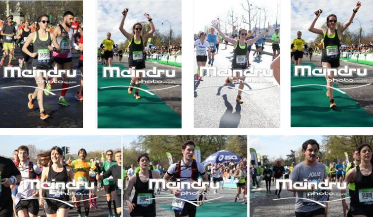 Marathon de Paris Flora & Julie