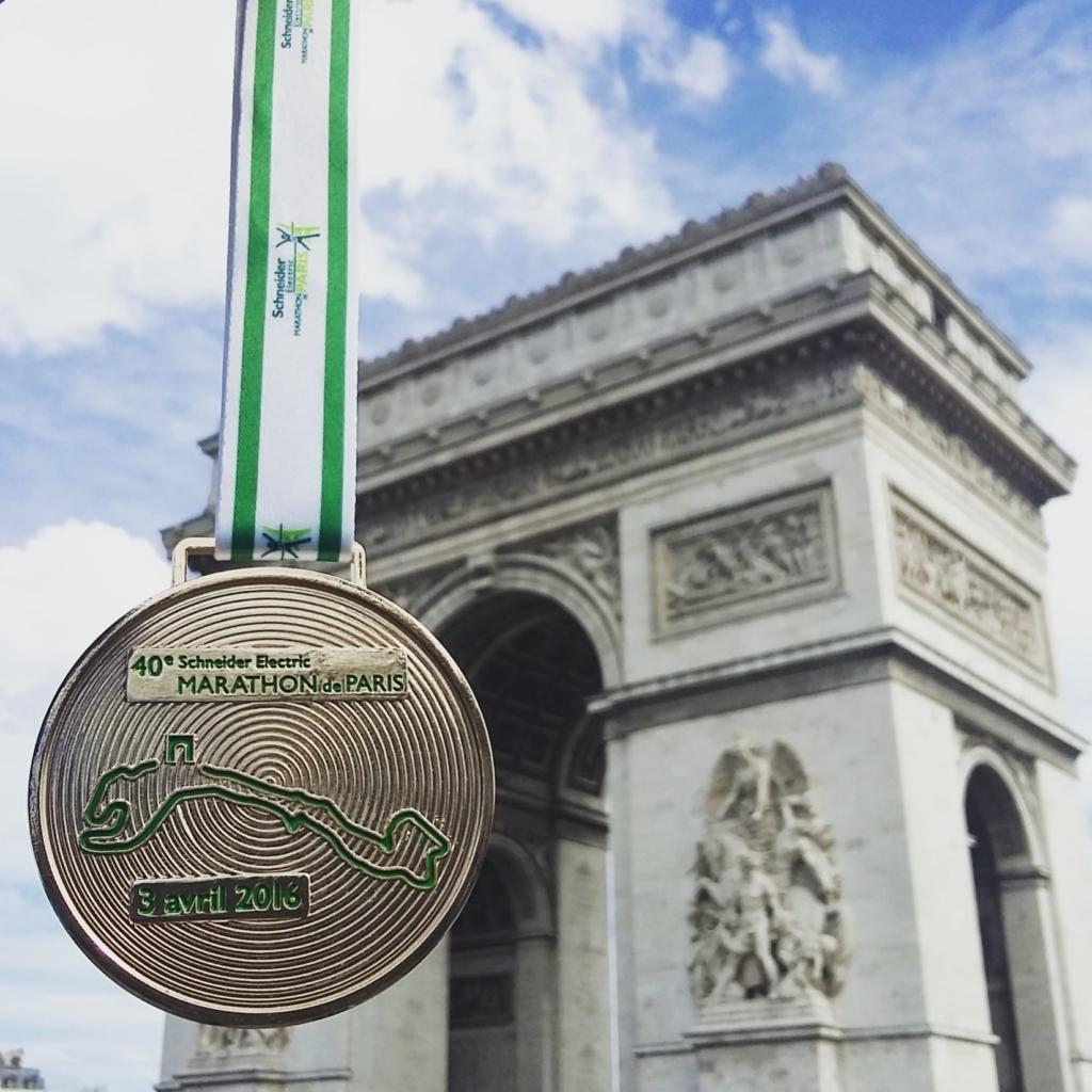 Marathon de Paris médaille