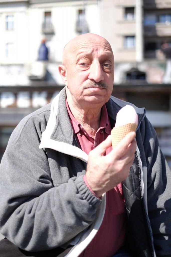 Papi glace (c) Guillaume Blot