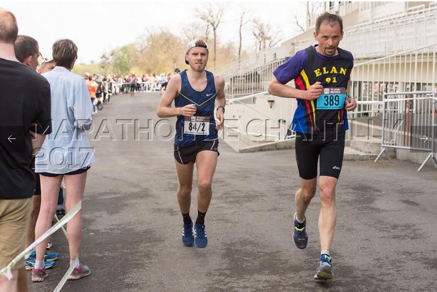 arrivée marathon de chantilly