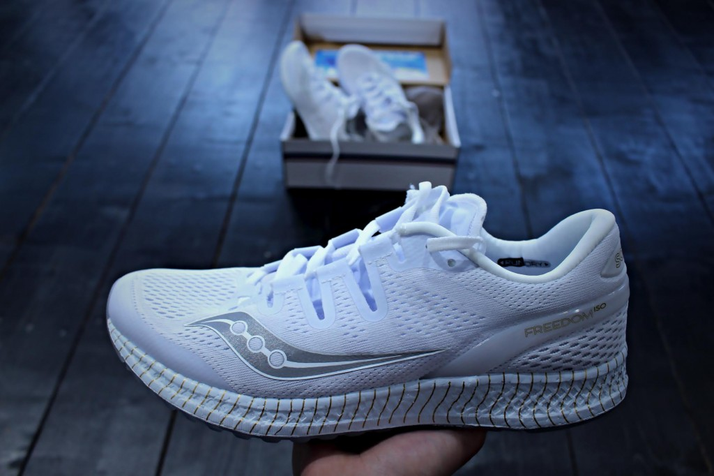 Saucony Freedom ISO  white gold S20355-11