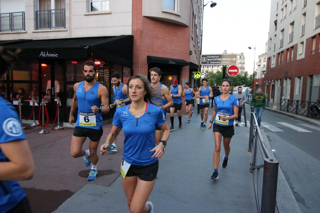 Les Barbès Runners au grand complet