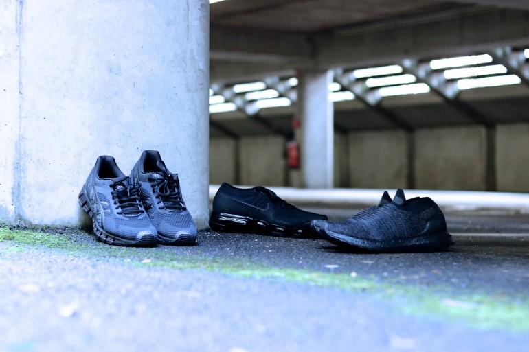 3 PAIRES DE RUNNING TRIPLE BLACK POUR L'HIVER
