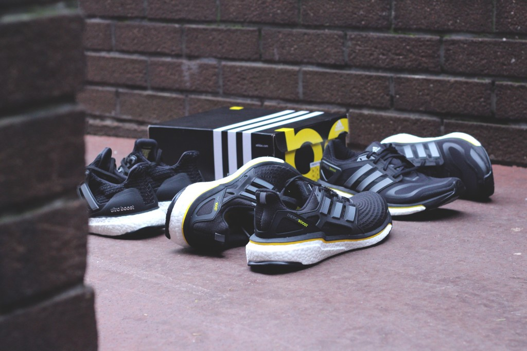 ADIDAS RUNNING 5 ANS DE BOOST ANNIVERSAIRE PACK ENERGY BOOST OG ULTRA 4.0