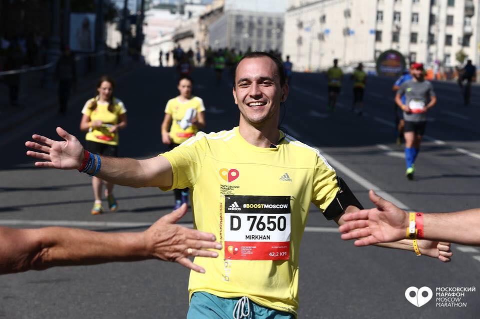 Mirkhan Sagitov - Foundateur et Chef des Tashkent Runners