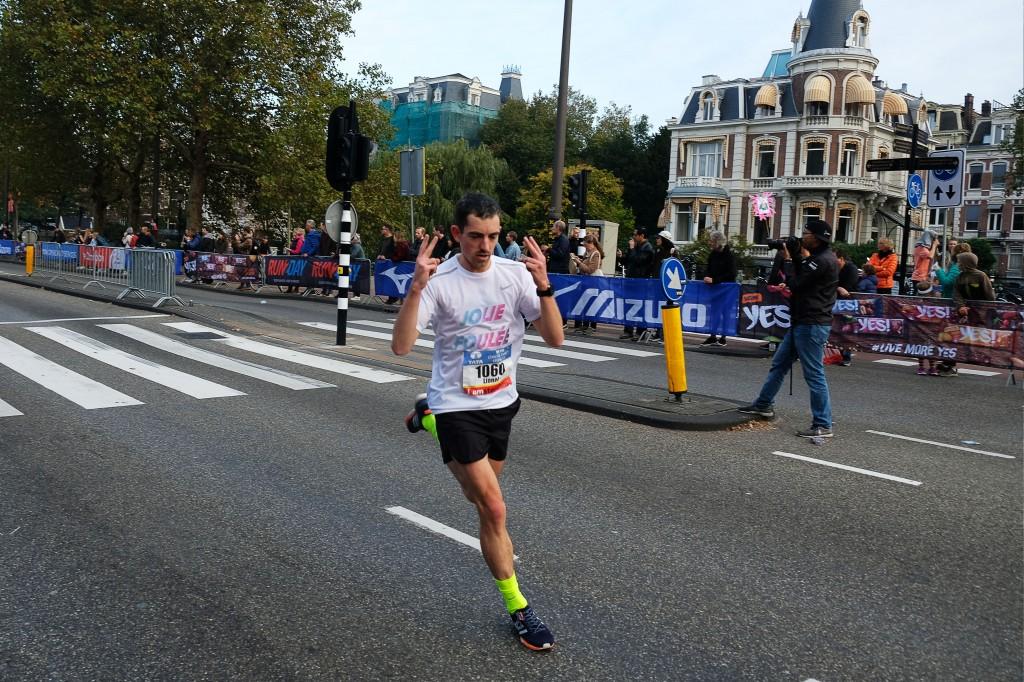 marathon d'amsterdam - Lionel