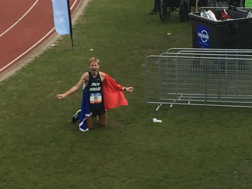 marathon d'amsterdam - Nico Mayer
