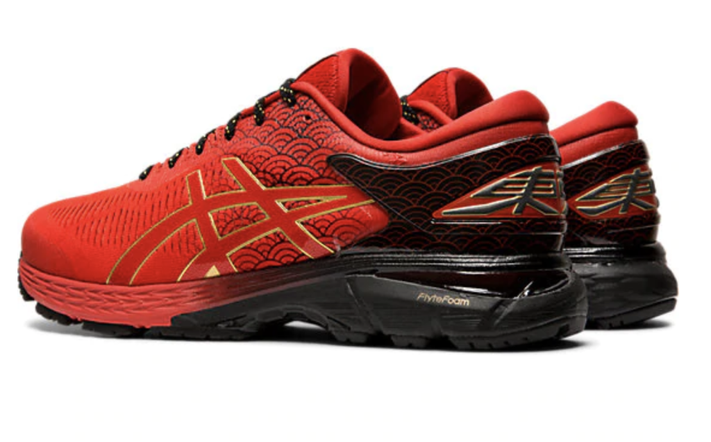 RED EMOTION ASICS RUNNING 2019 TOKYO MARATHON KAYANO TARTHER JAPAN