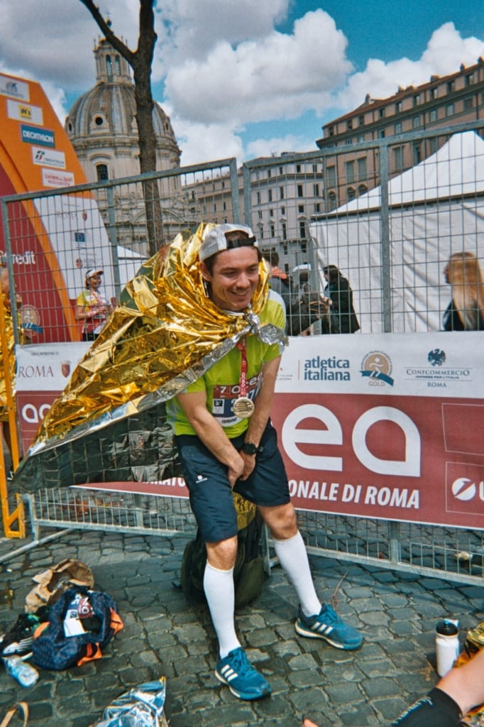 Marathon de rome jolie foulée