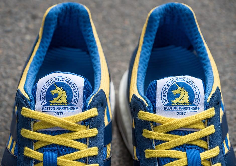 adidas adizero adios boost 3 boston marathon 2017 Adidas Adios Boston 2017   B.A.A.'s  blue and yellow.