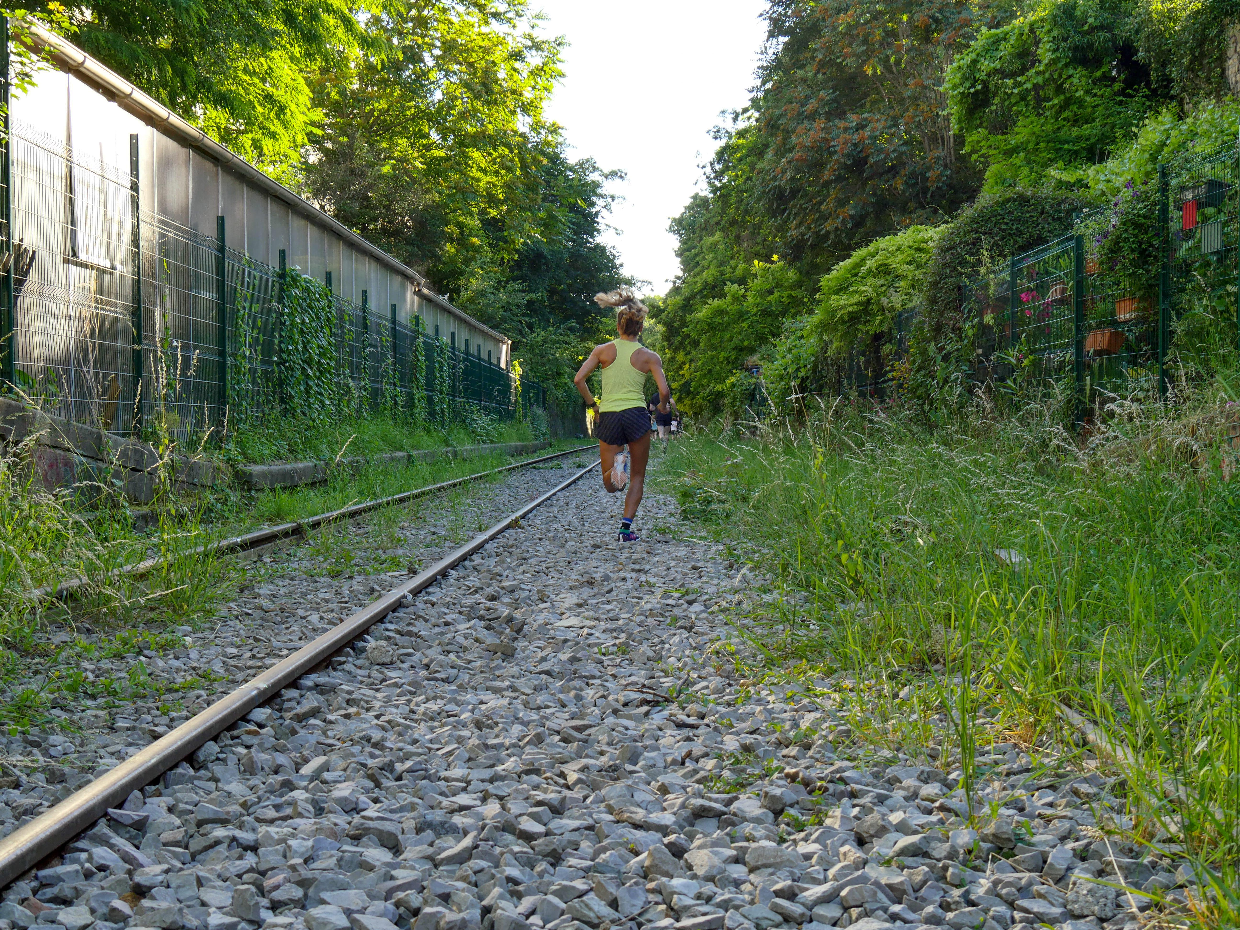 courir seul jolie foulée