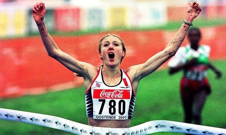 Paula Radcliffe 2001 Ostnd
