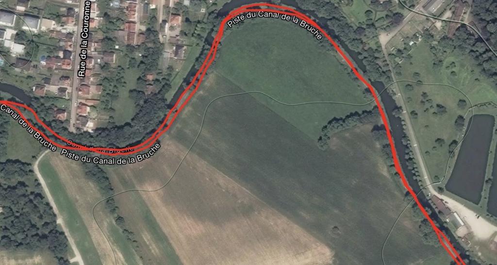 TRACE GPS GARMIN CAMPAGNE STRAVA