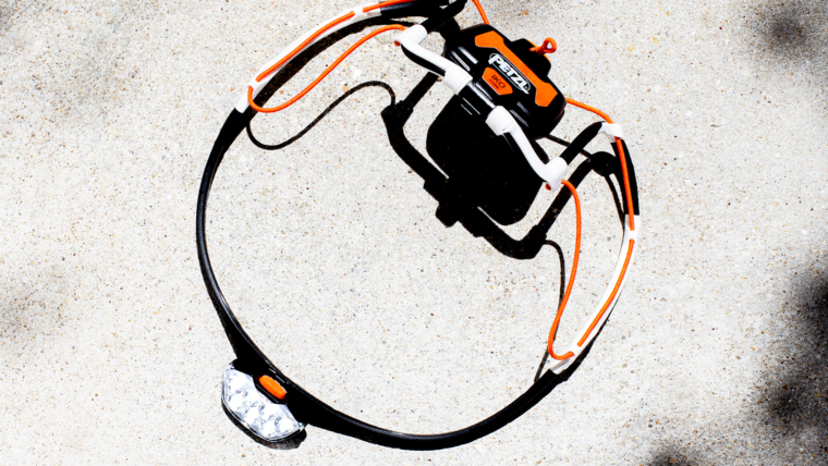 PETZL IKO CORE BLACK WHITE